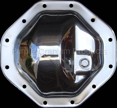 Dodge (Chrysler) 9 25 12 Bolt - Chrome Differential Cover