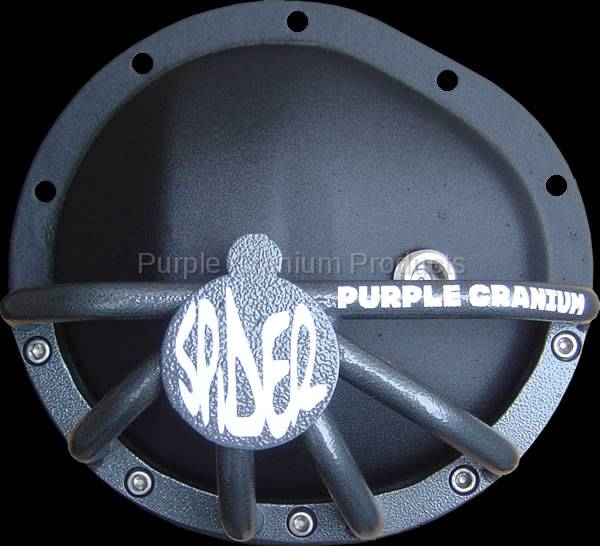 Chevy 10 Bolt Half Spider Differential Rock Guard - Front