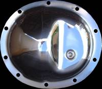 Dana 35 - Chrome Differential Cover - Jeep Rear Axle