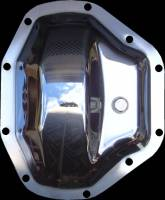 Dana 80 - Chrome Differential Cover - Ford Dually '99-Present Dodge Dually 1994-2002