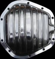 Polished Aluminum Differential Cover - Dana 50/60/70 - Front Axle