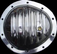 Polished Aluminum Differential Cover - Chevy 10 Bolt - Front Axle
