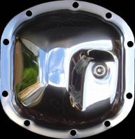 Dana 30 Thick - Chrome Differential Cover - Jeep, Bronco, Scout - Front Axle
