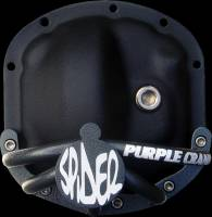 Dana 30 Spider Differential Guard for Jeep Unlimited - Short Jeep Front